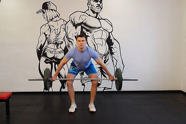 Photo of Hang Snatch - Below Knees exercise