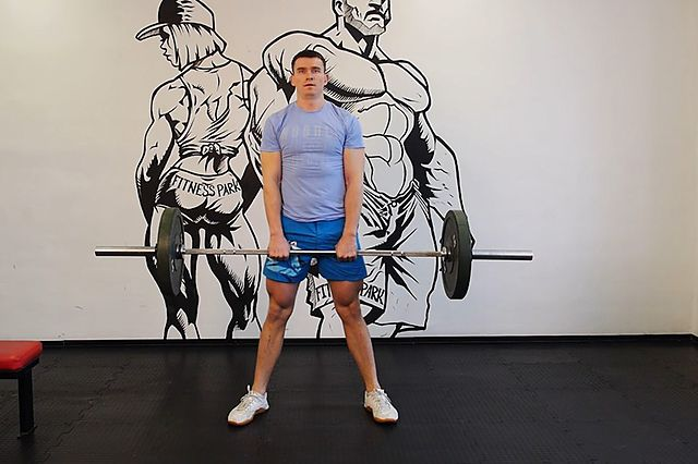 Photo of Wide Stance Stiff Legs exercise