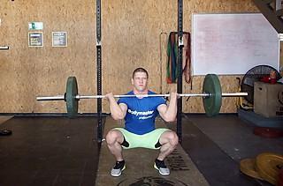 Front Squat (Clean Grip)