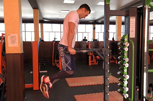 Photo of Dips - Chest Version exercise