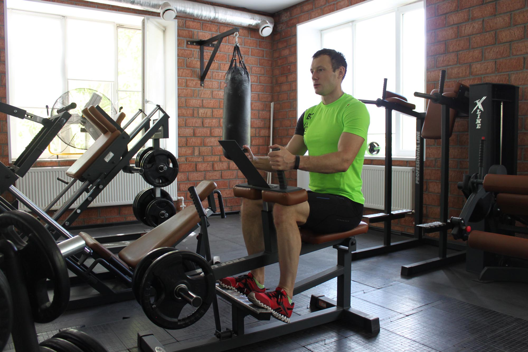Exercise Seated Calf Raise