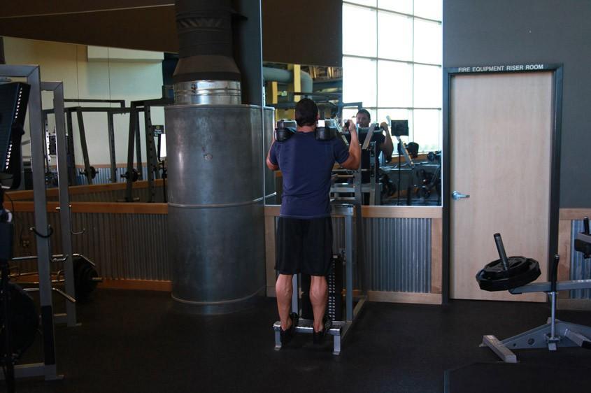 Exercise Standing Calf Raises