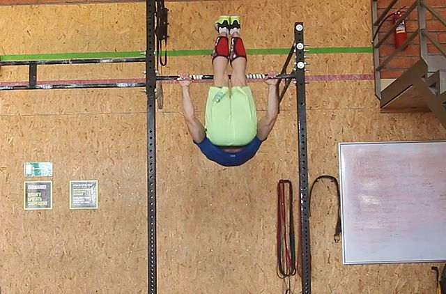 Photo of Hanging Pike exercise
