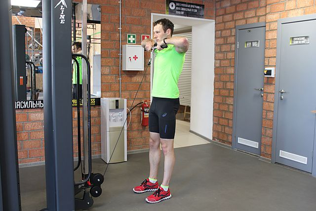 Photo of Upright Cable Row exercise