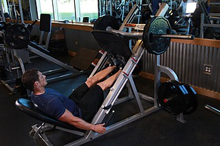 Calf Press On The Leg Press Machine