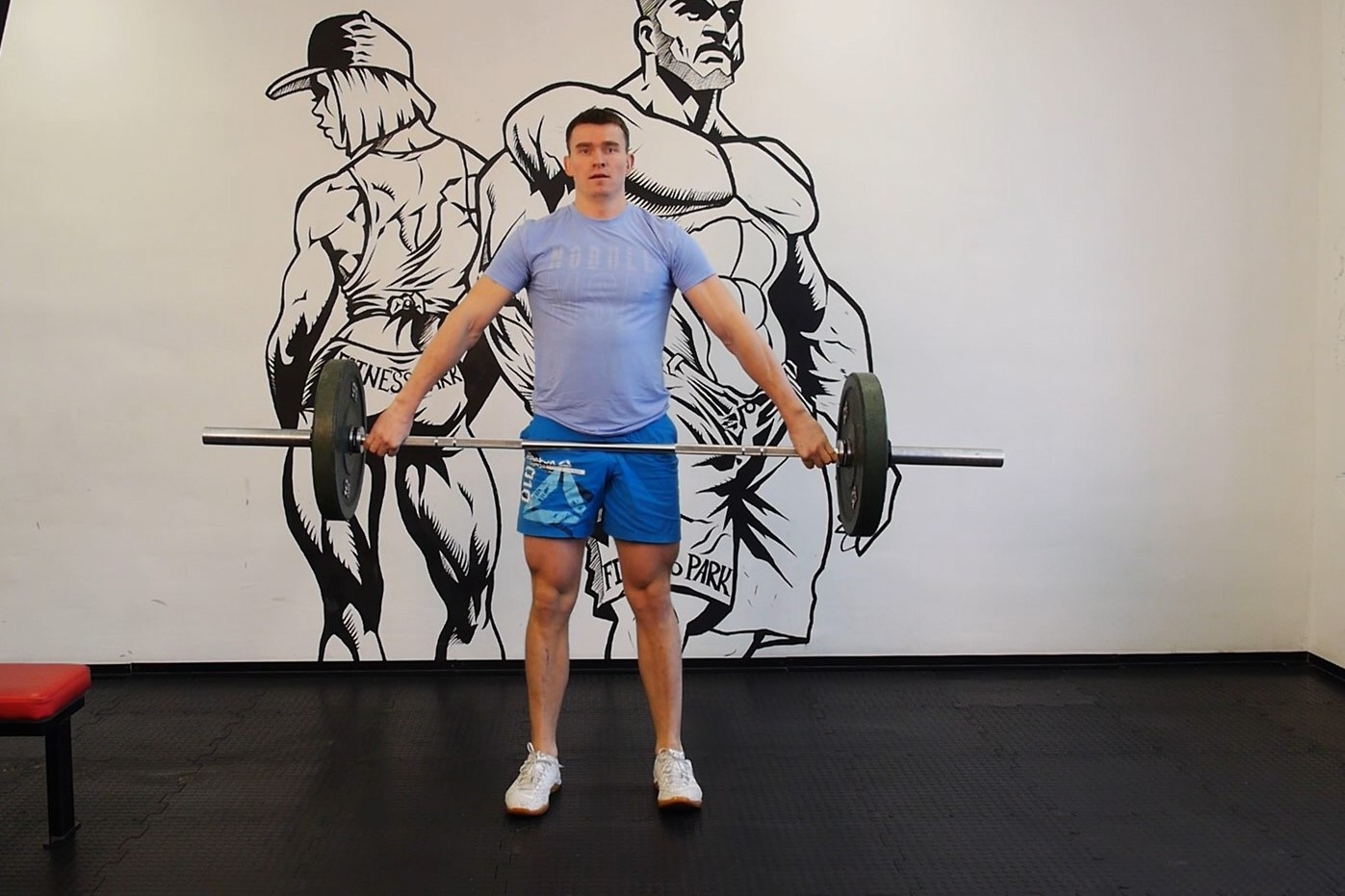 Exercise Power Snatch from knees