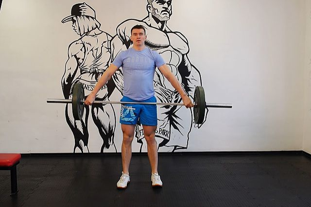 Photo of Power Snatch from knees exercise