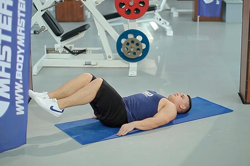 Exercise Bent-Knee Hip Raise