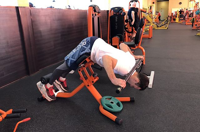 Photo of Hyperextensions (Back Extensions) exercise