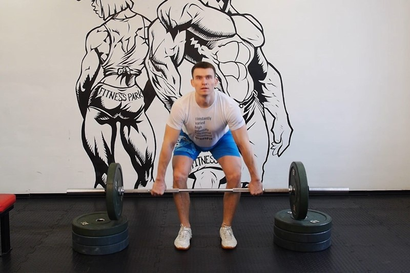 Exercise Power Clean from Blocks