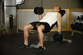 Alternate Incline Dumbbell Curl