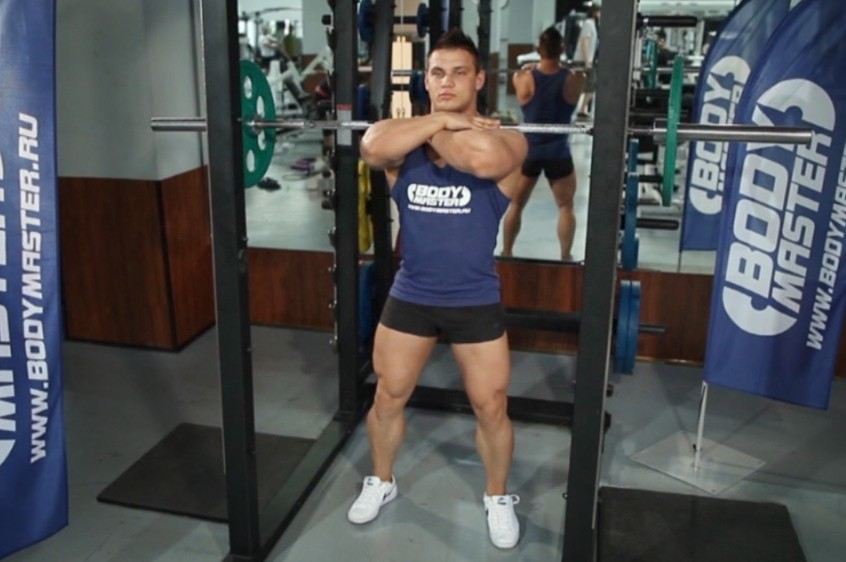 Exercise Front Barbell Squat