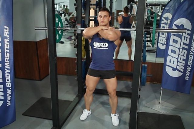 Photo of Front Barbell Squat exercise