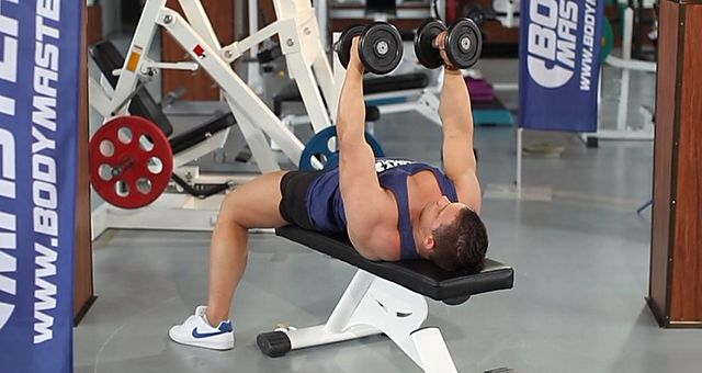 Photo of Dumbbell Flyes exercise