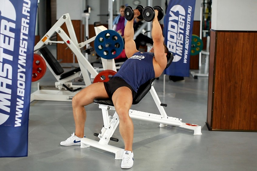 Exercise Incline Dumbbell Flyes