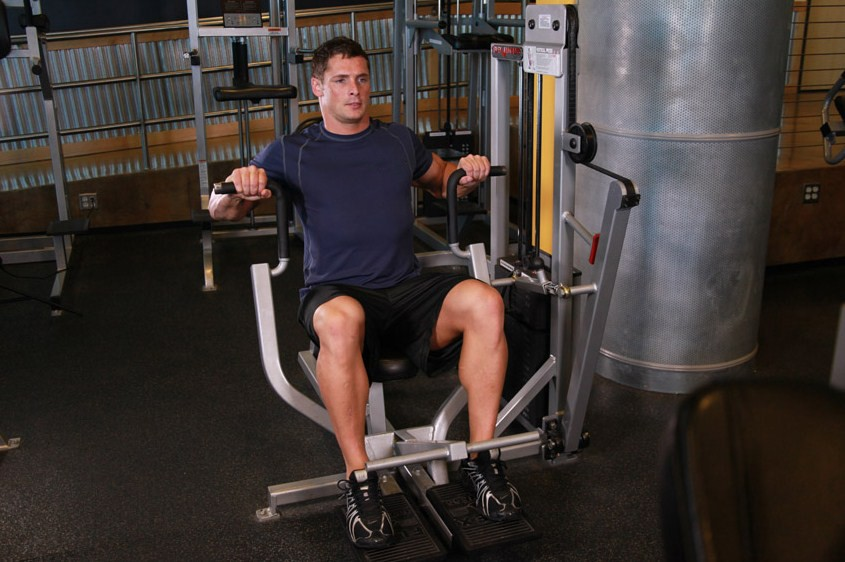 Exercise Machine Bench Press