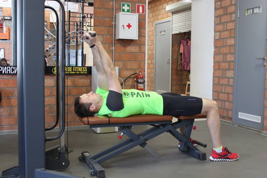 Exercise High Cable Curls