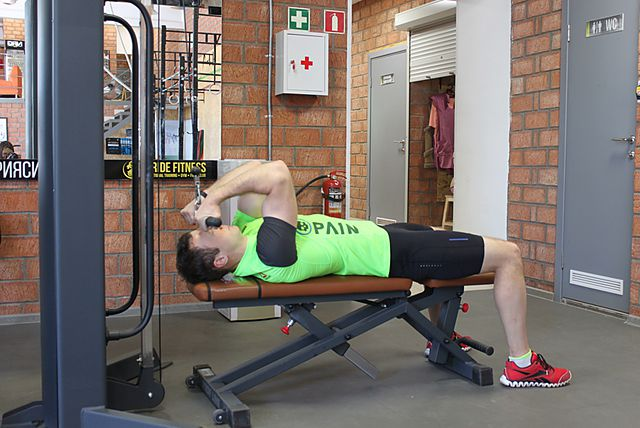 Photo of High Cable Curls exercise