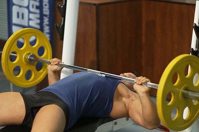 Photo of Wide-Grip Barbell Bench Press  exercise