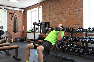 Incline Dumbbell Bench With Palms Facing In