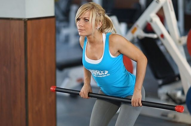 Photo of Bent Over Barbell Row exercise