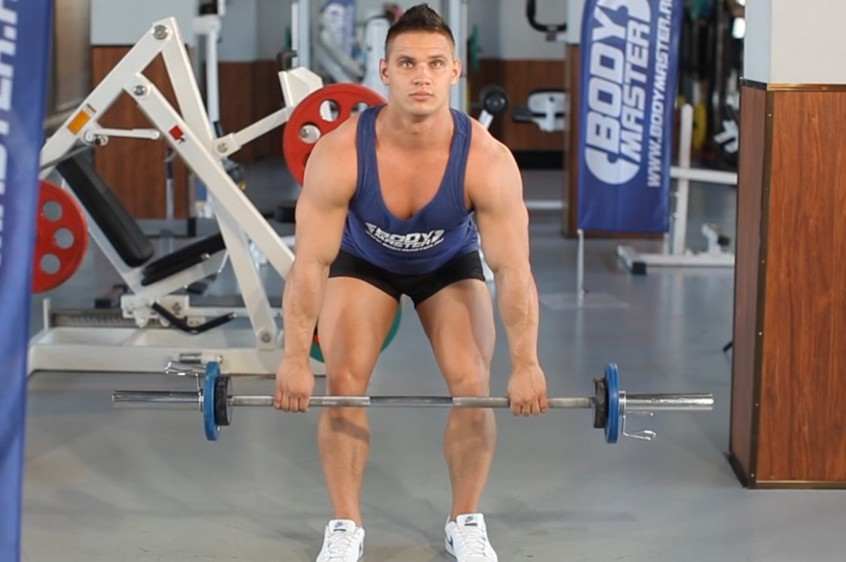 Exercise Bent Over Barbell Row