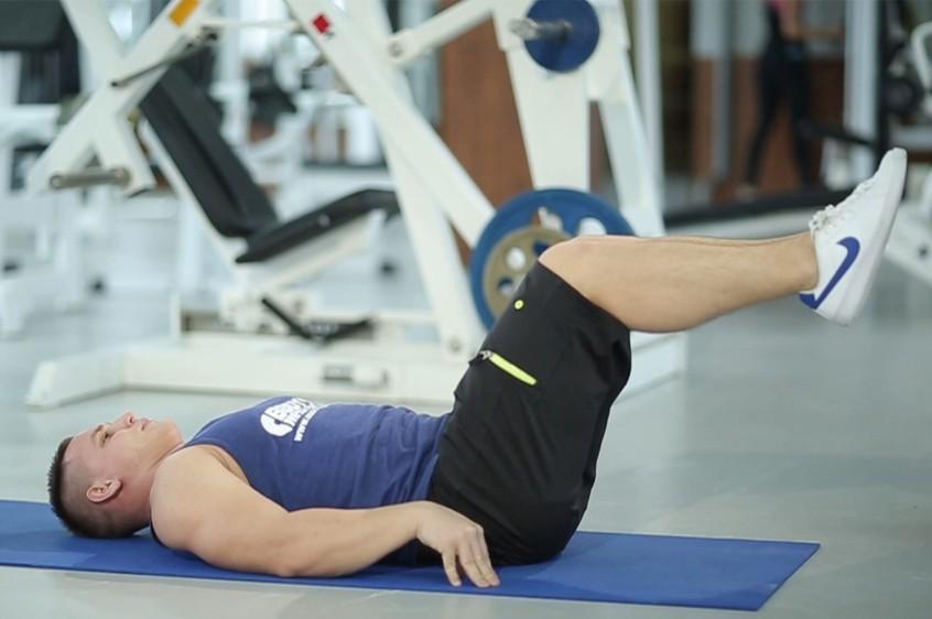 Exercise Reverse Crunch