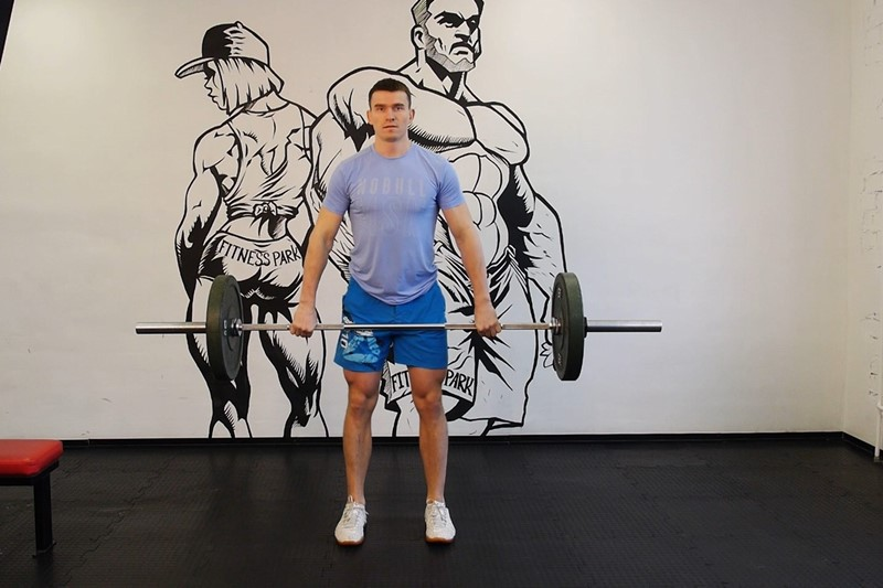 Exercise Hang Clean