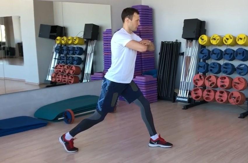 Exercise Выпады