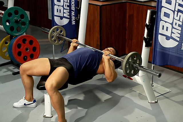 Photo of Close-Grip Barbell Bench Press  exercise