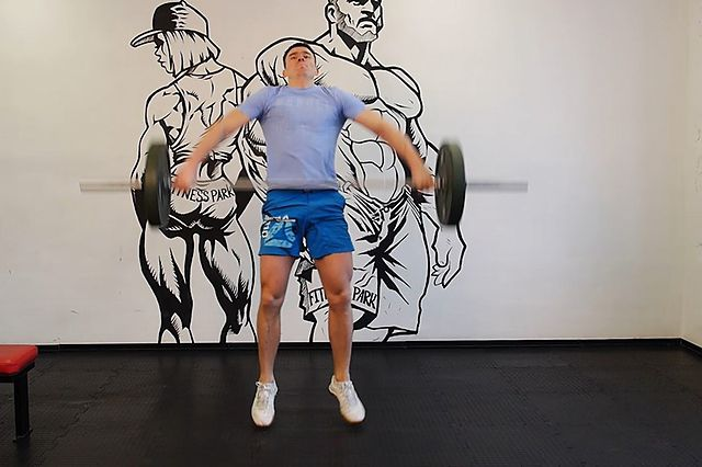 Photo of Muscle Snatch exercise