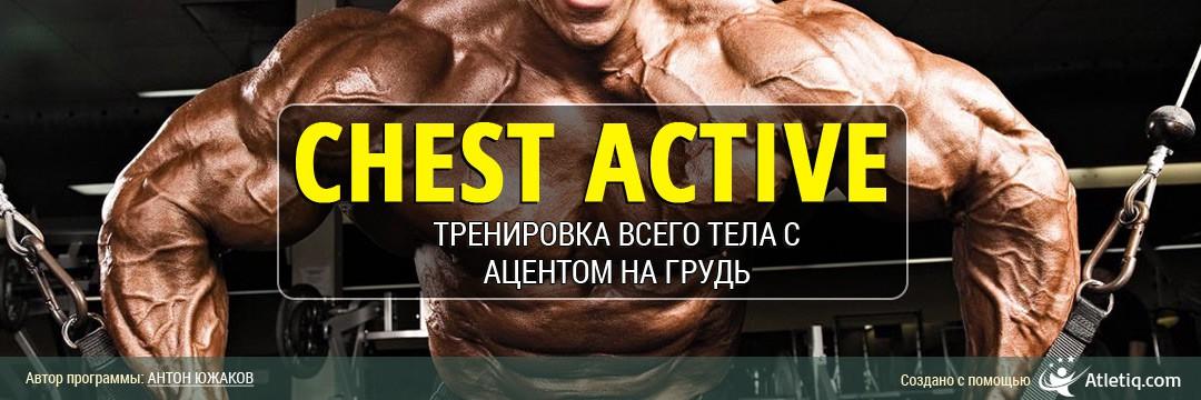 Набор мышечной массы » Chest Active