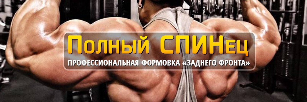 Набор мышечной массы » Полный СПИНец